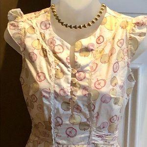 Dresses & Skirts - Vintage apple dress